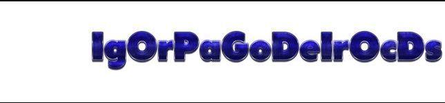 IgOr PaGoDeIrO CdS O(((((moral))))